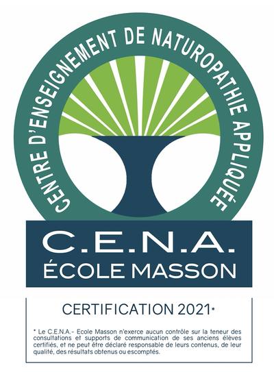 naturopathe Certifié CENA
